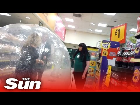 Weird-world-of-coronavirus-Britain-as-woman-shops-in-zorb-ball-at-Morrisons