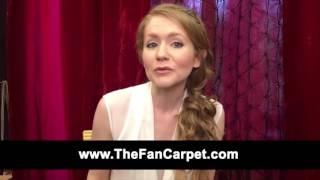 Charleene Closshey Welcomes You to The Fan Carpet