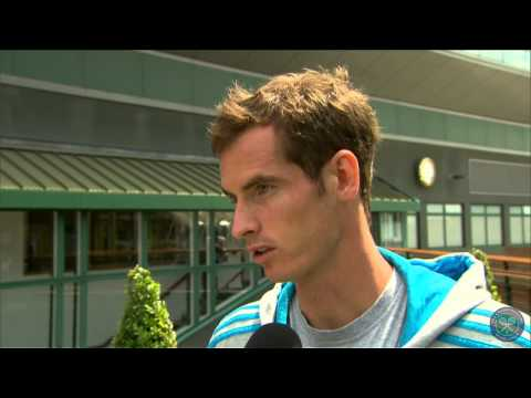 Andy Murray's perfect day at Wimbledon - Wimbledon 2014