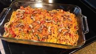 Chicken Spaghetti Bake