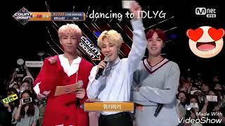 Video BTS JIMIN dancing to WEKI MEKI 'I don't like your girlfriend' (M Countdown 170928) download MP3, 3GP, MP4, WEBM, AVI, FLV Januari 2018