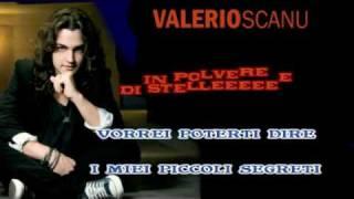 per duettare con Valerio Scanu  in  Polvere Di Stelle Karaoke con testo