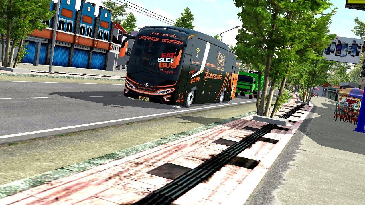 mod evolender HD full anim  karoseri new armada || mod bussid terbaru