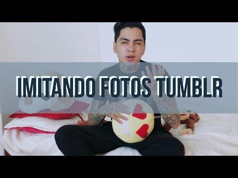 IMITANDO FOTOS TUMBLR (PARODIA) -  NICOLAS ARRIETA