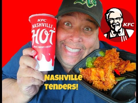KFC® Nashville Hot Chicken Tenders REVIEW!
