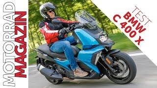BMW C 400 X im Test  –kann der luxuriöse Scooter die Mittelklasse revolutionieren?