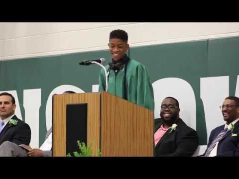 JOSHUA B HUGHES WInslow Township Middle School Graduation Speech 2016