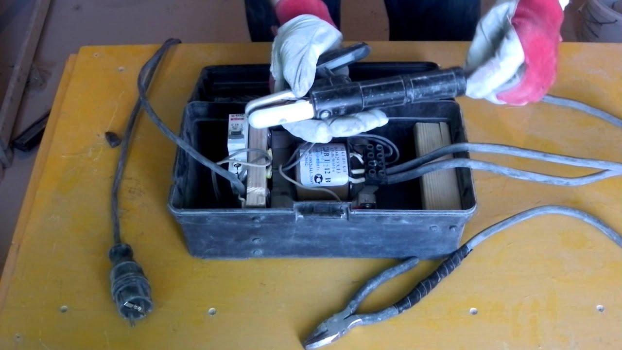 Сварочный аппарат для скруток своими руками. Правильный электрик. Электромонтаж в Омске 49-65-22
