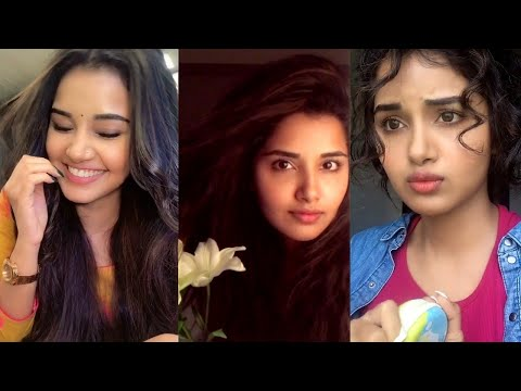 Actress Anupama Parameswaran Tik Tok Dubsmash Collection