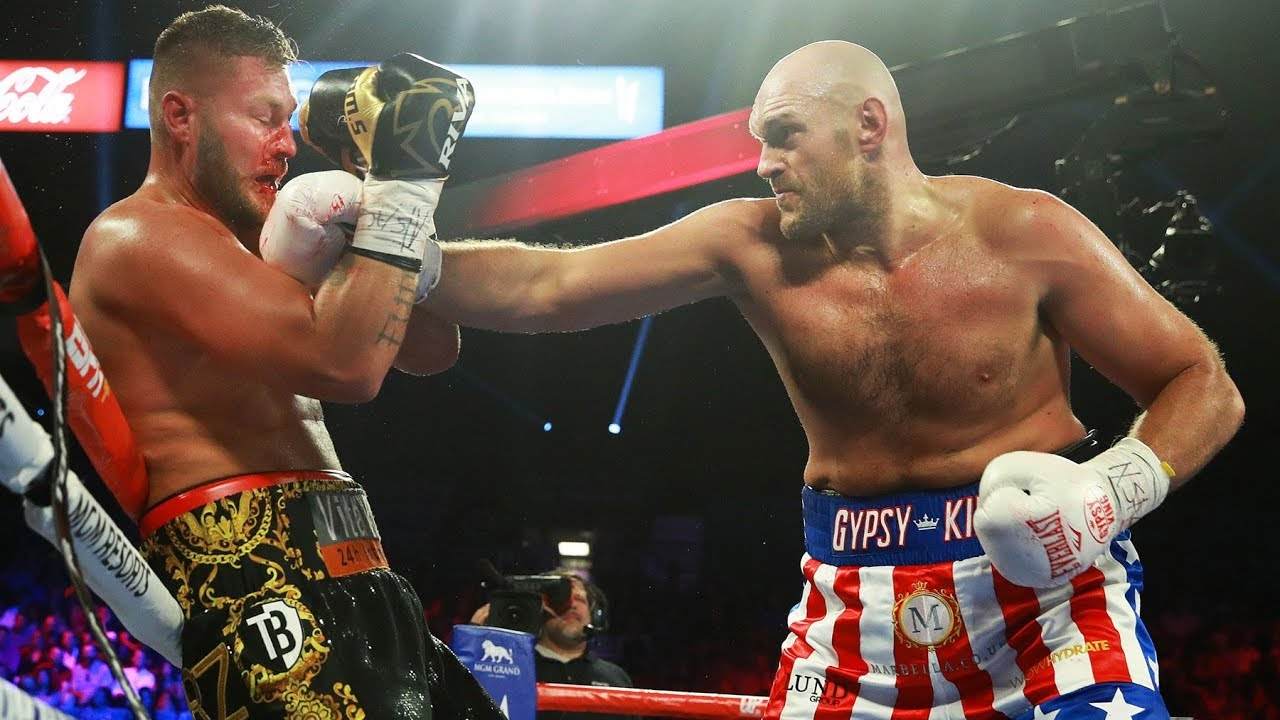 Tyson Fury Assaults Schwarz and Dances For Vegas