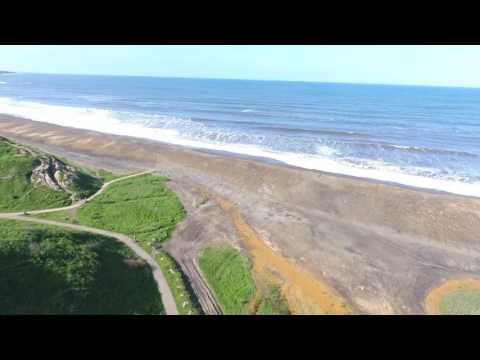 Drone Horden beach 4x4
