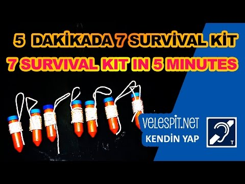 7 Survival Kit In 5 Minutes | DIY Projects | Simple Survival Kits