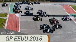 Resumen del GP de los Estados Unidos - F1 2018
