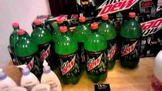 CVS Mountain Dew Haul - WOW ! Coupons Pay Off !!! Couponing my kid