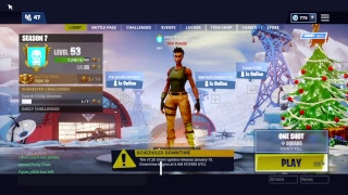 Fortnite Battle Royal ONE Shot LTM! Fortnite Account GAW!