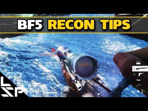 BFV RECON TIPS - Battlefield 5 Guide (Closed Alpha)