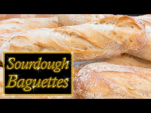 Sourdough Baguettes:  Easy Step By Step.