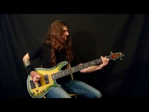 Cradle of Filth - Heartbreak and Seance (Official Bass Playthrough)