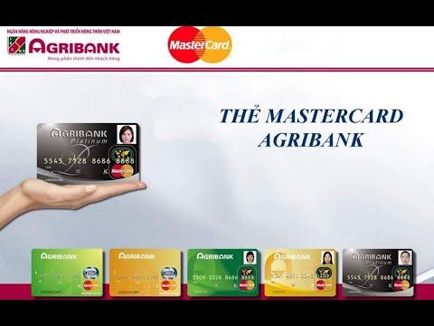 Tạo thẻ ảo Master Card vCard  trên Agribank - Xác minh Paypal thanh toán Online
