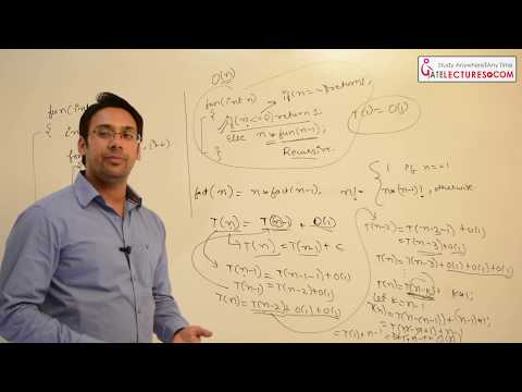 Algorithms Design and Analysis 07 How to find Time Complexity of a programs