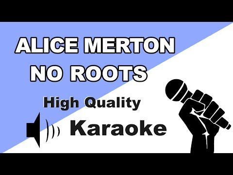 🔴🎤 Alice Merton - No Roots | Instrumental/Karaoke Universe HD🎤🔴