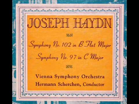 Haydn / Hermann Scherchen, 1951: Symphony No. 102 in B flat major - Vienna Symphony Orchestra