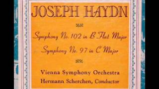Haydn / Hermann Scherchen, 1951: Symphony No. 102 in B flat major - Vienna Symphony Orchestra