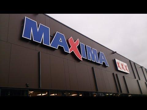 maxima Vilnius supermarket Lithuania
