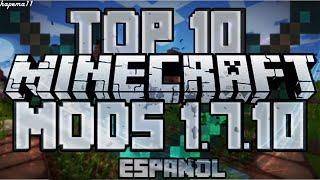 Top 10 Los Mejores Mods para Minecraft 1.7.10 y 1.8 [ESPAÑOL]