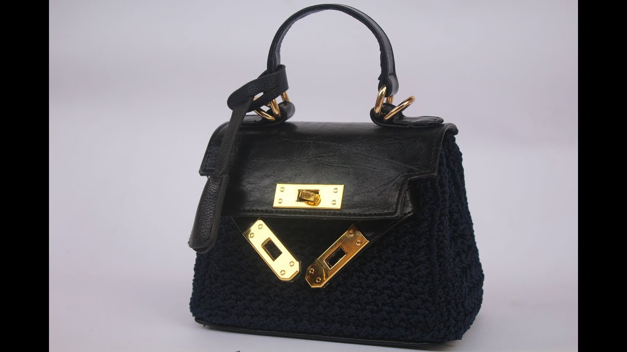 Diy Crochet Kelly Bag Youtube Tas Wanita Rajut Backpak 3 In 1