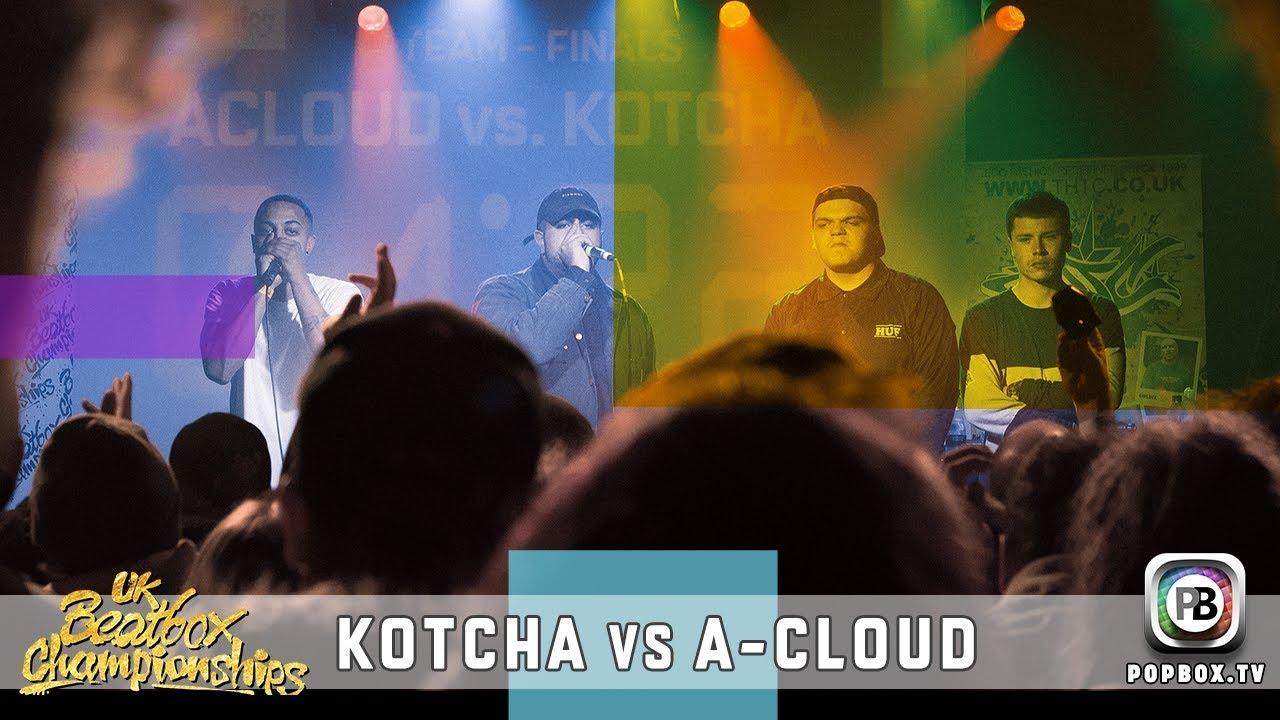 Kotcha vs A-Cloud   Team Final   2017 UK Beatbox Championships