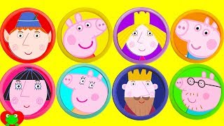 Peppa Pig and Little Kingdom Ben and Holly Play Doh Surprises