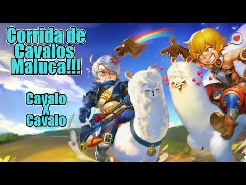 Dragon Nest M: A Grande Corrida de Cavalos!!! Ou Seria Mário Kart Nest ! Omega Play