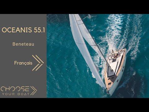 OCEANIS 55.1 - Beneteau : Vidéo de Visite Guidée (en français)