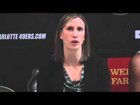 Charlotte Women's Basketball vs. NC Central Postgame