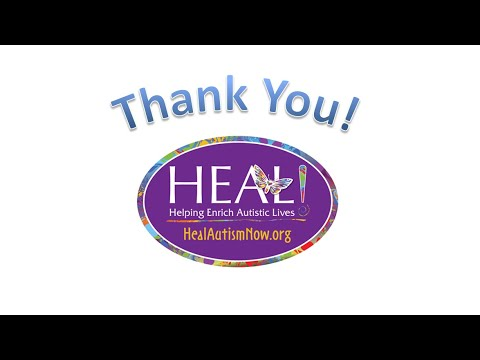 The Jericho School for Children with Autism, Thank You HEAL Foundation