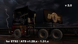 ??????? ????? ?????????, ??????????? ? ?????? ????? v2.0 ??? Euro Truck Simulator 2 (v1.28.x, 1.31.x) :    http://sharemods.com/qevau5pzmj3i/Tire_Pack_for_All_Truck_v2.0_1.28_1.31.rar.html