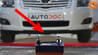 Toyota Avensis t25 Wagon karbantartás - videó útmutatók