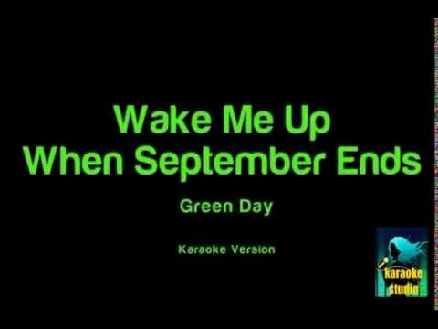 Green Day - Wake Me Up When September Ends ( Karaoke Version )
