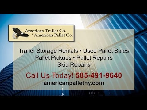 American Trailer Co / American Pallet Co | Rochester NY Storage Trailers