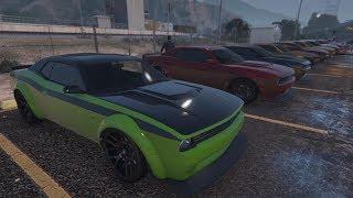 Livestream - GTA 5 - HELLFIRE & MUSCLE CAR MEET and Racing Playlist PS4
