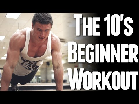 The 10s Beginner Workout (Body Weight Only)