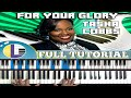 🎵 For Your Glory PIANO tutorial TASHA COBBS FOR YOUR GLORY Tasha Cobb gospel piano