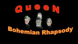 Queen Bohemian Rhapsody || Animasi Cover