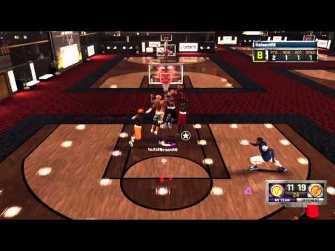NBA 2K16 Center putback