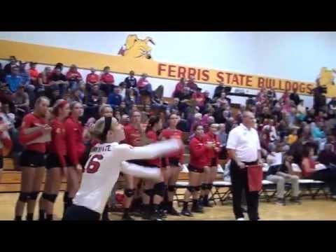 Ferris State Volleyball Weekend Recap