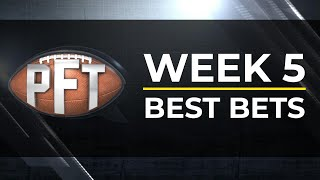 NFL Week 5: Best Bets I Pro Football Talk I NBC Sports