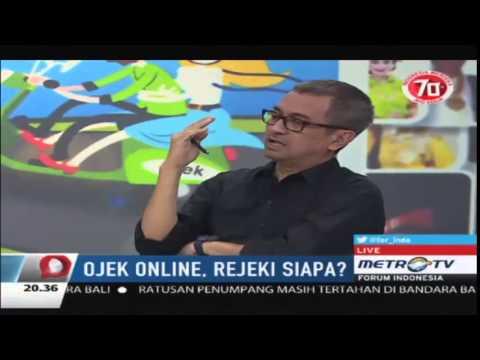 FORUM INDONESIA Ojek Online Rejeki Siapa 6 Agustus 2015 Metro TV Full