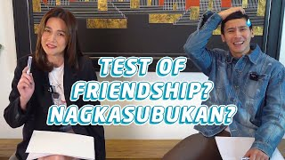 FRIENDSHIP TEST WITH @Bea Alonzo | Enchong Dee