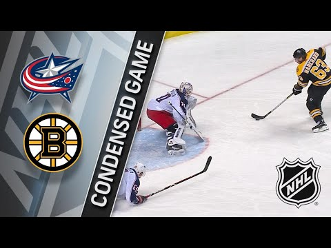03/19/18 Condensed Game: Blue Jackets @ Bruins